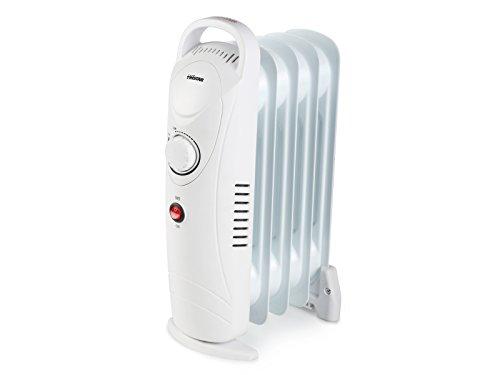 Tristar KA-5103 Calefactor eléctrico (Radiador de Aceite) Radioador, 500 W, Blanco