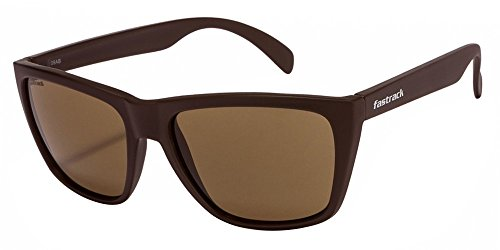 Shop Fastrack Brown Squares Sunglass For Men-P230BR2 #  available at amazon for Rs.1395