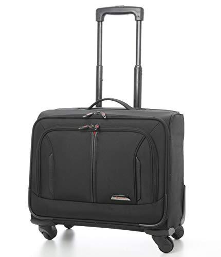 """Aerolite 18"""" Laptop Roll-Koffer Laptop-Trolley Notebooktasche mit 4 Räder Tasche für Laptop 15"""", 17"""" und 18"""" Zoll"""