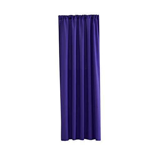 MA87 Blätter Gardine Volltonfarbe Halbschatten Kurzer Vorhang Einzelner Vorhang 140x100cm 1PCS (PP) - 78-zoll-gardinenstange