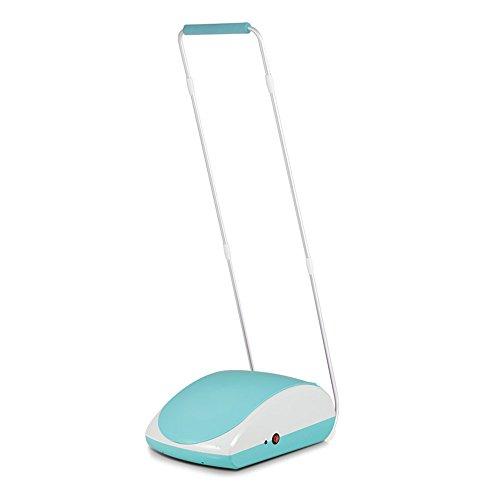 LJHA Schuhüberzug Maschine Automatische Schuh Film Maschine Einmalige Überschuh Fußmaschine 2 Farben erhältlich Einweg-Schuhüberzieher ( Farbe : Blau , größe : Armrest )