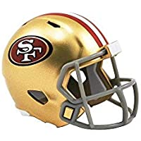 Riddell San Francisco 49ers Mini-Speed Pocket Pro Micro/Kamerahandys/Football Helm
