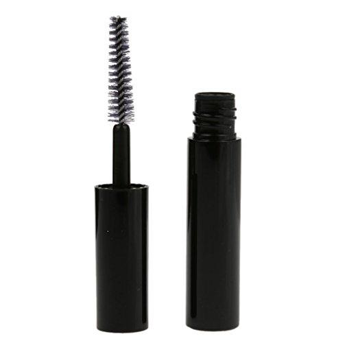 Preisvergleich Produktbild 4 Ml Kunststoff Leer Mascara Wimpern Wachstum Flasche Lipgloss Flüssigkeitsschlauch Schwarz