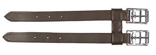 Kerbl Sattelgurt Sattelgurtverlängerung - Cincha para caballo, color marrón