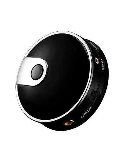 Bluetooth 4.0 Transmisor de Audio Fibra Portátil Adaptador de Audio Inalámbrico Bluetooth Transmisión de Audio Estéreo Con Entrada de Vídeo Óptica Toslink, 3.5mm Aux, Coaxial Conecte el Auricular Inalámbrico Dual Menos Lags Para Smart TV XBOX PS4 Sistema Bose JBL B&W