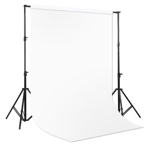 BD fondale fotografico in carta per sfondo STUDIO 2.72x11 mt RGB 255-255-255
