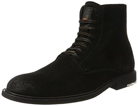 BOSS Orange Herren Cultroot_Halb_sd 10198920 01 Klassische Stiefel, Schwarz (Black), 44 EU