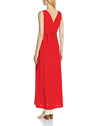 HotSquash V Cross Over Maxi, Robe Femme Rouge - Rouge