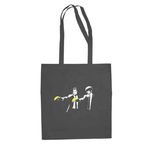 Vince & Jules Stencil - Stofftasche / Beutel, Farbe: (Fiction Jules Pulp Kostüm)