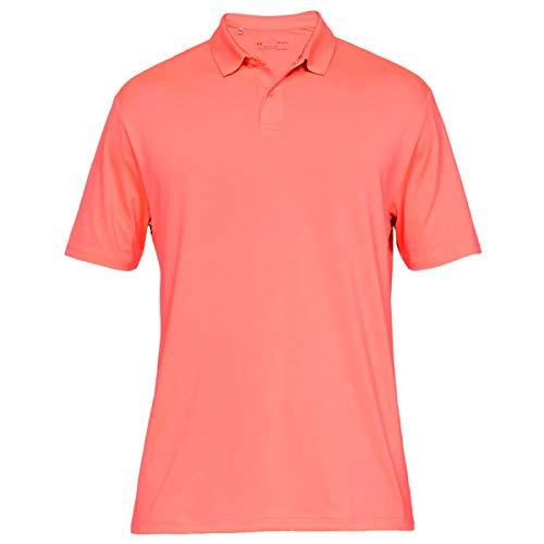 Under Armour Herren Solide Leistung 2.0 Golf-Polo-Hemd - Blitz Rot - XXXL