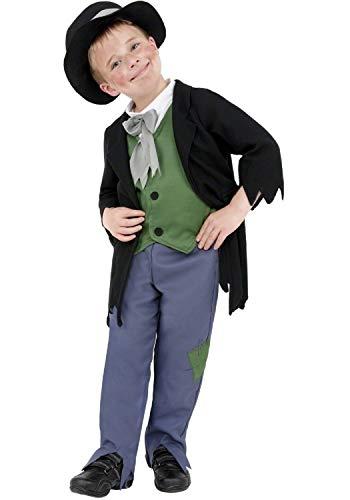 Fancy Me Jungen Artful Dodger Arme Viktorianisch Gassenkind Oliver Twist Taschendieb Tv Film Büchertag Charakter Maskenkostüm Ausrüster - Mehrfarbig, 4-6 - Artful Dodger Kostüm