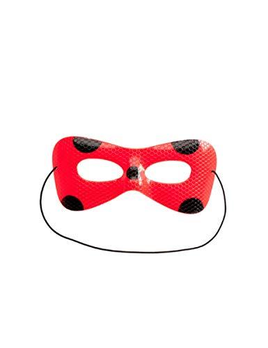 Ladybug-Cat Noir Maske und Süßigkeiten Geschenkidee für Kinder schwarz