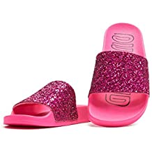 best sneakers 0390c d3a6f adidas Originals Adilette W Rose Choc Synthétique Adulte Slides Sandales