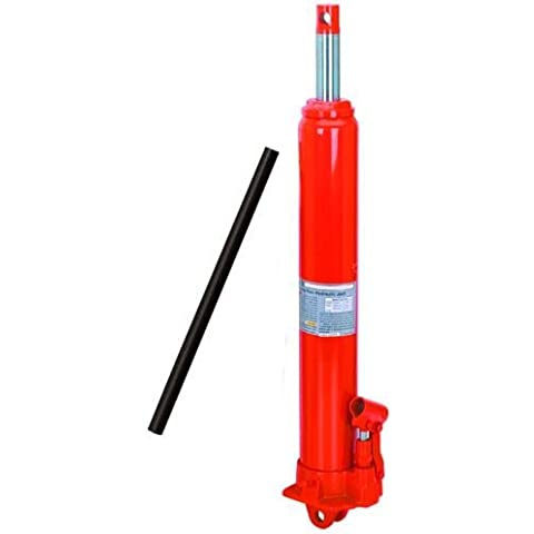 8 Ton Long Ram Manual Hydraulic Jack Cherry Picker piston pump new by Unbranded*