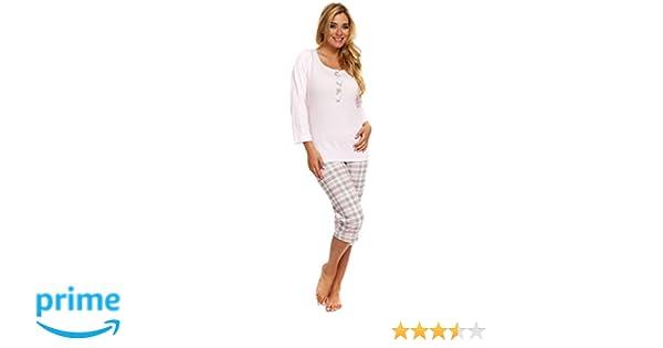 Italian Fashion IF Damen Schlafanzug Pyjama Atena  Amazon.de  Bekleidung 720ae305fd