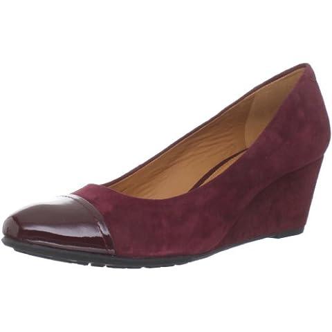 Geox DONNA VENERE D24P8S02166C9999 - Zapatos clásicos de ante para mujer