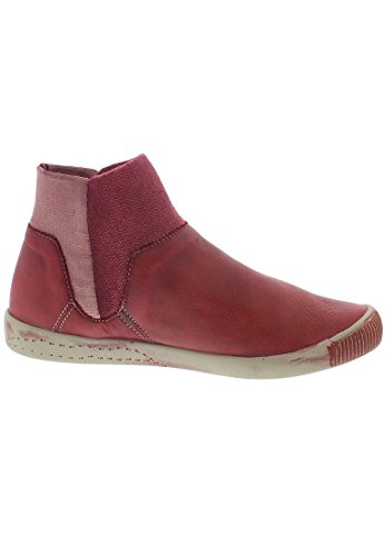 Softinos  Ime335sof, Bottes Classiques femme Rouge