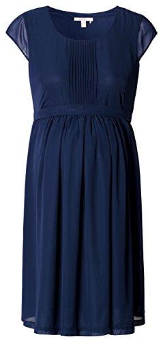 ESPRIT Maternity - Robe - maternité - Crayon - Manches courtes Femme Bleu - Blau (Dark Navy 402)