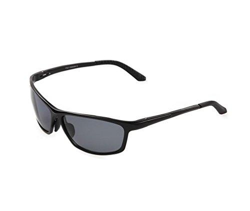 Tansle Herren Sonnenbrille Schwarz Schwarz