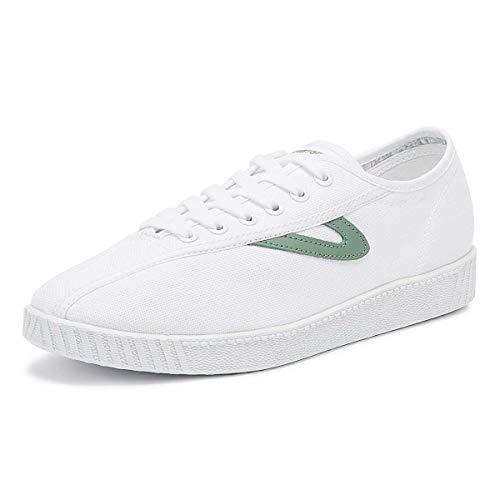 Tretorn Nylite Damen Weiß/Seagrass Sneakers-UK 5 / EU 38 - Schuhe Tretorn