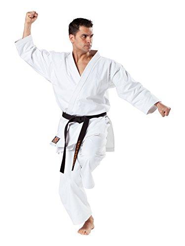 Kwon Karateanzug Kata in 12 Oz. Trad., ohne Logo Farbe: Weiss, Grösse: 170 cm