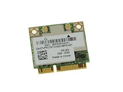 Dell 0659663194559 Tvff3 Wifi Card Dw1550 802 11ac A B G N