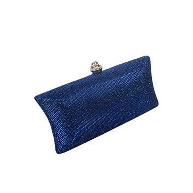 SUNNY KEY-Pochette e Clutch@Donna Lustrini Serata/evento Borsa da sera Viola / Blu / Dorato / Marrone / Grigio / Nero , silver navy blue