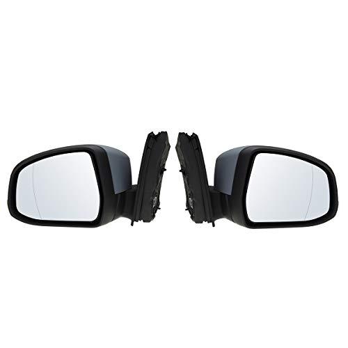 JenNiFer Porta Dell'Ala Elettrica Auto Specchio Conducente Lato Passeggero per Ford Focus Mk2 2008-2011 - Va Bene