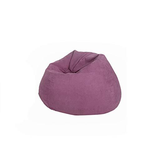 BYLRSF Sofa Sack - Ultra Weicher Sitzsackstuhl, Stapelstuhl Memory Foam Adult, Sitzsack Für Kinder, Mehrfarbig Optional (Farbe : D)