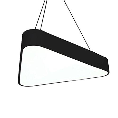 Memories lamps zWD Lustre à LED Triangulaire pour Bureau, Club House Zone Business magasins Centre Commercial Lampe Lumineuse 45 cm/60 cm Appareil d'éclairage 60cm #1