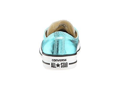 Converse Ctas Core Ox, Baskets mode mixte adulte Fresh Cyan/Black/White