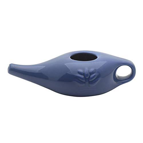 Nasendusche, Keramik Nasenspülsalz Nasenspülung Nasenreinigung Nase,Neti Pot,Nase Waschen Topf, Nasenspülung Bei Erkältung Oder Allergien
