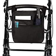 SupreGear Rollator-Tasche, leicht, strapazierfähiges Nylon, universell passend, Organizer, Tragetasche, Reisetasche, Walker, Zubehör Tasche für jeden Rollator, Rollator, Transportstuhl -
