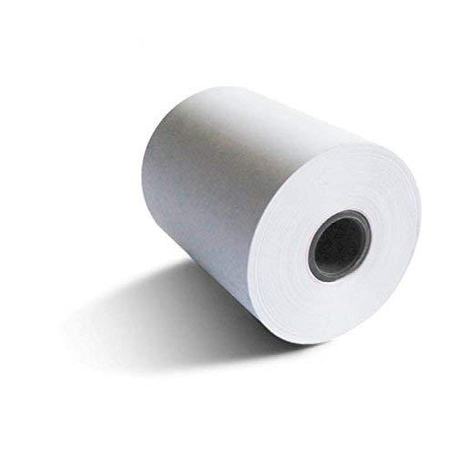 8 rollos de papel termico 80x80x12 para tpv