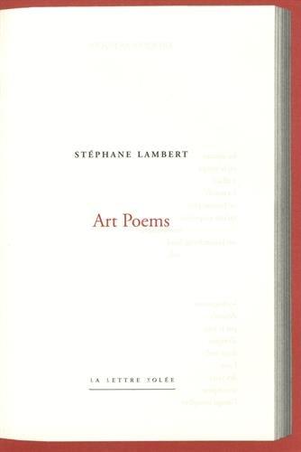 Art Poems