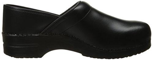 Sanita Original-Professional Closed PU Clogs Black Black