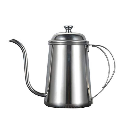 BESTONZON Edelstahl Kaffeekanne Wasserkessel Kaffeekessel Filterkaffee Werkzeug Schwanenhals...