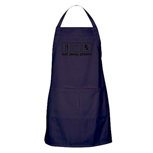 CafePress - Eat Sleep Pharm - Küchenschürze mit Taschen, Grillschürze, Backschürze -