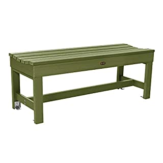 Sequoia Professional CM-BENSQ41-SGE Commercial Grade Weldon 4ft Backless Picnic Bench, Dried Sage