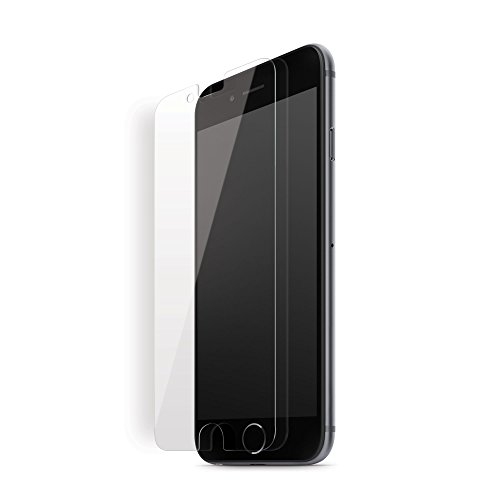 iLuv Anti-Shock-Displayschutzfolie für iPhone 8 Plus/iPhone 7 Plus, mit Nano-Anti-Shock-Technologie, 7 Schichten, HD klar, Anti-Fingerabdruck, blasenfrei, 3D-Touch-Kompatibilität Iluv Screen Protector