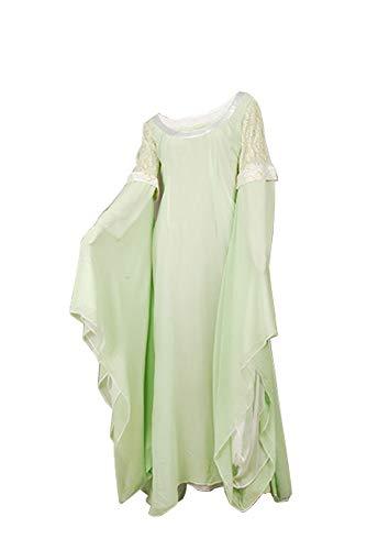 RedJade Arwen Chase Herr der Ringe Hellgrün Kleid Cosplay Kostüm Damen ()