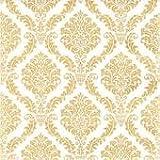 60servilletas de papel Elegant Color dorado 25x 25cm 3capas, servilletas de calidad de la marca, cóctel servilletas de Navidad