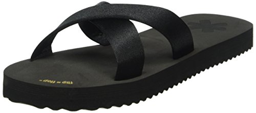 flip*flop Original cross neo, Tongs  femme Noir - Noir (000)