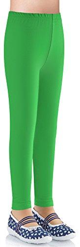 ggings LAMA03 (Grün4, 116-122) (Grüne Leggings Kinder)