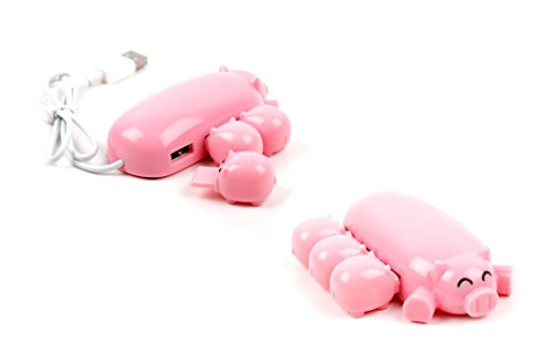Hubs USB für Spiele-Konsolen Sony Playstation 3/PS3/Microsoft Xbox 360/Nintendo Wii-Krake oder Schwein DURAGADGET