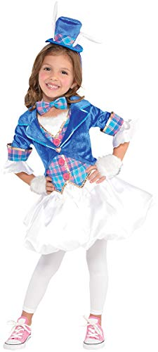 Fancy Me Mädchen Teenager Smart Wonderland White Rabbit Alice World Book Day Week Karneval TV Film Film Kostüm Kostüm ()