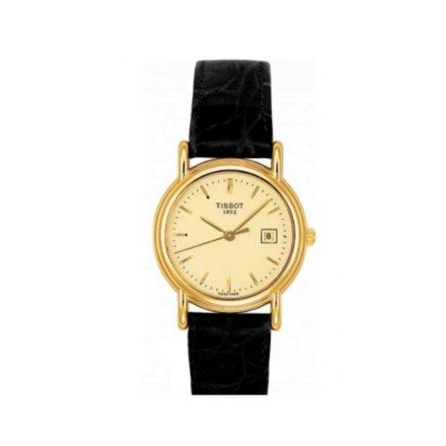 Tissot de mujer reloj de pulsera Oro Carson T71316974