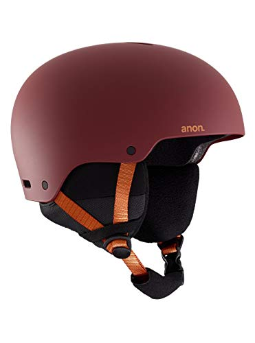 Anon raider 3, casco snowboard uomo, doa red, m