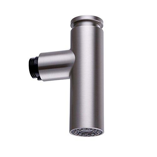 KES K¨¹che Waschbecken Wasserhahn Kopf Dual Funktion Pull Out Spray Head Ersatz Part G 1/2' Verbindungen Geb¨¹rstet Nickel, PFS9-2