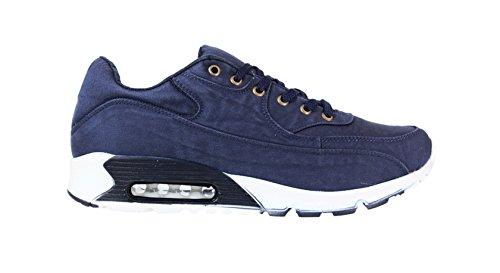 Chaussure sport à lacet maxiconfort Bleu